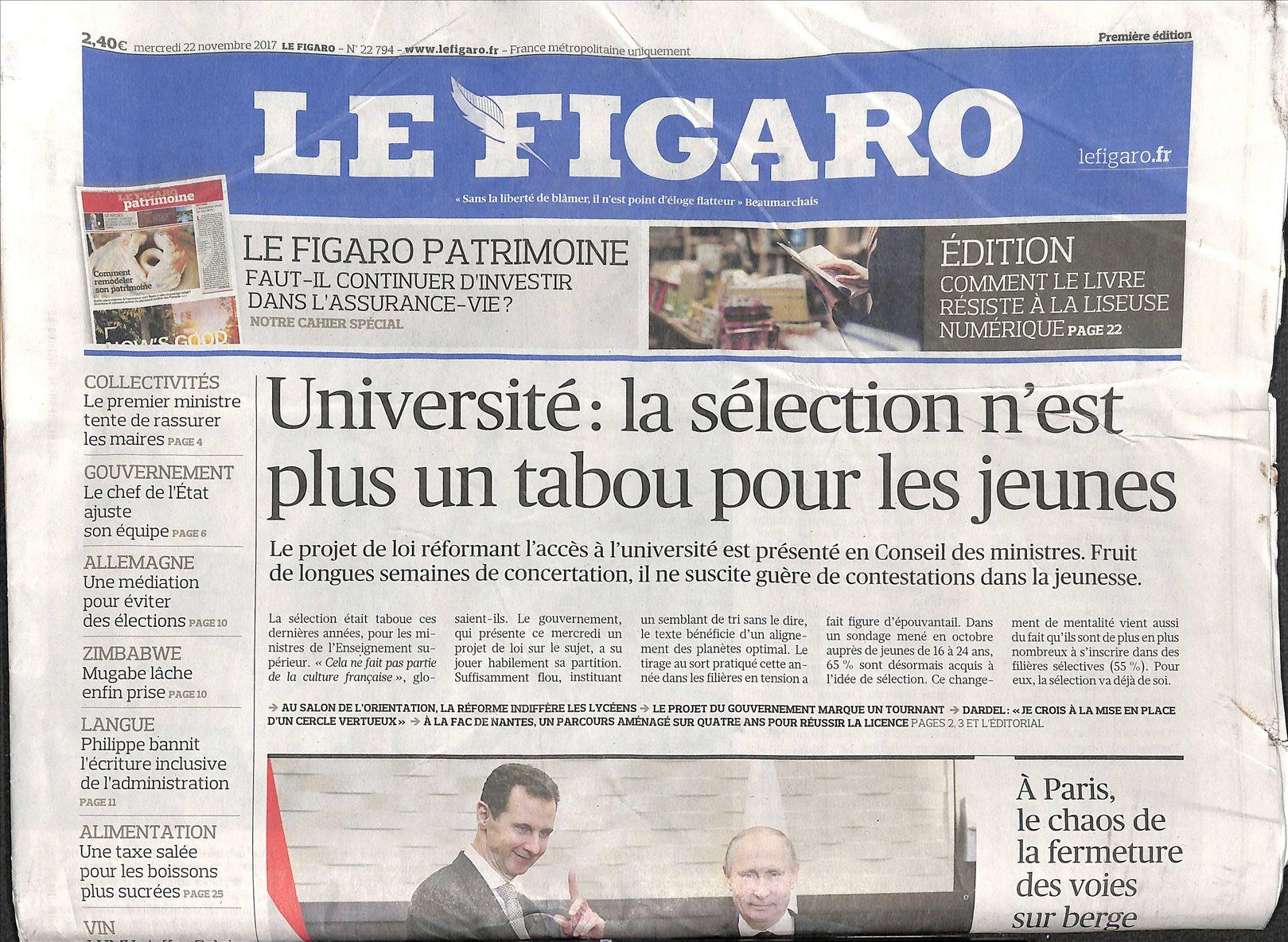 Jornal Le Figaro