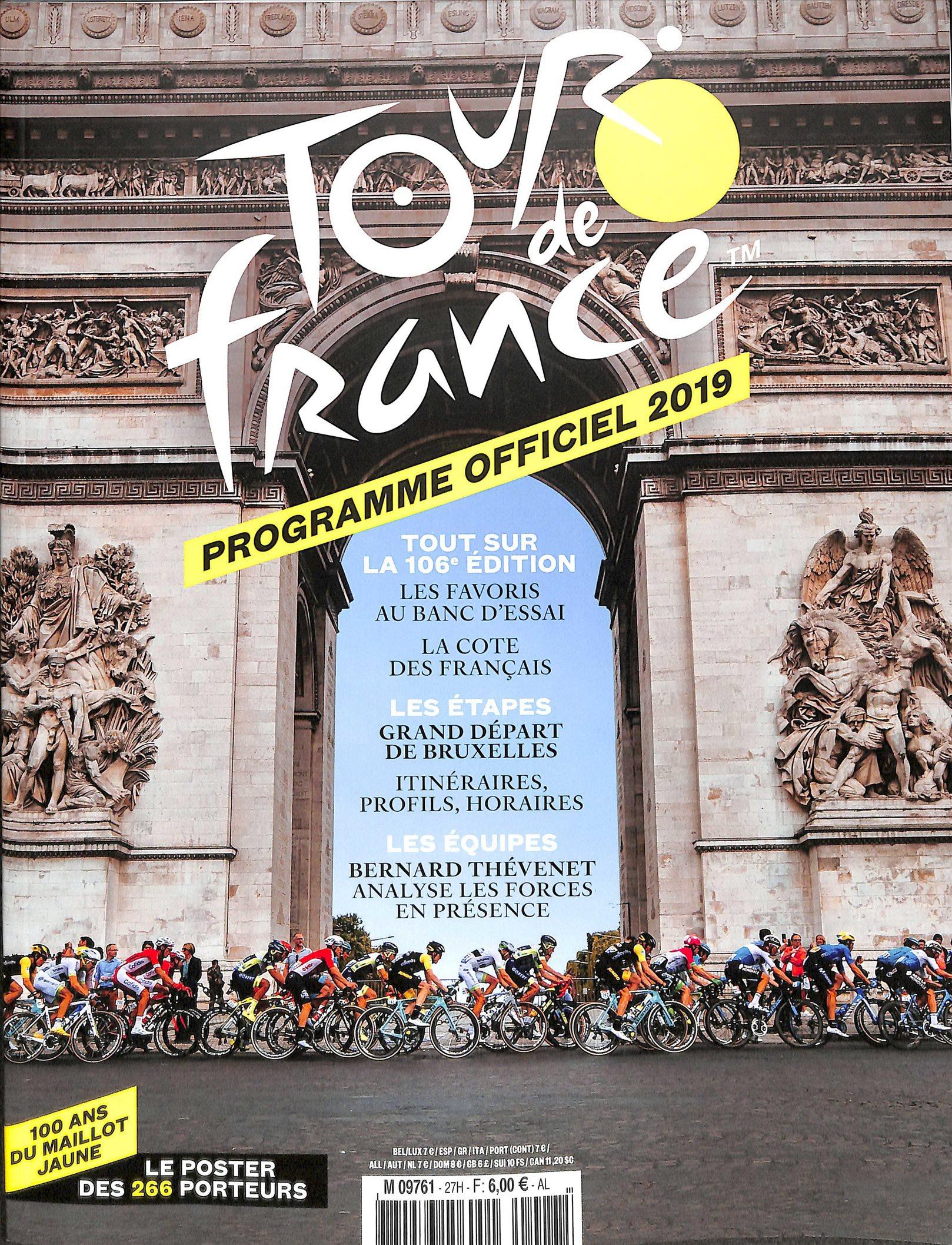 TOUR FRANCE PROGOFFICIEL