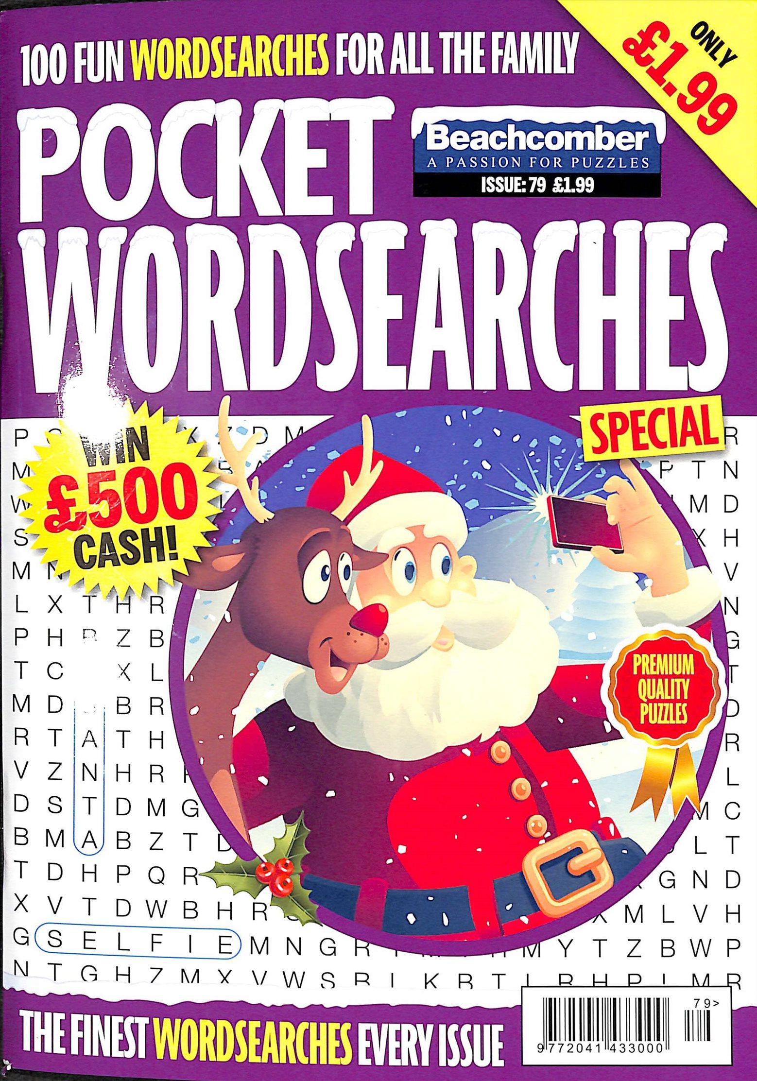 POCKET WORDSEARCHES SP