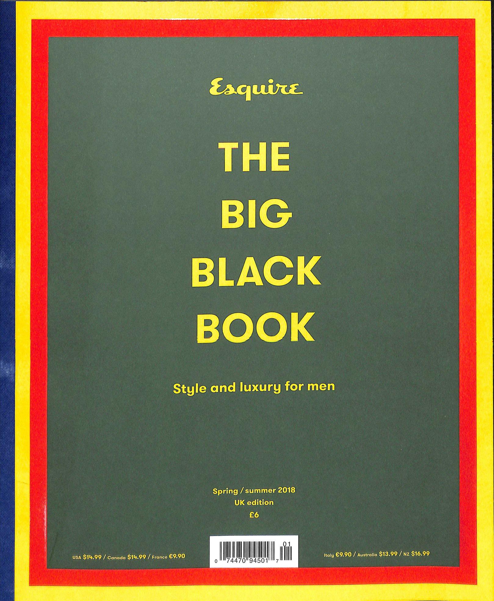 ESQUIRE THE BIG BLACK BOOK
